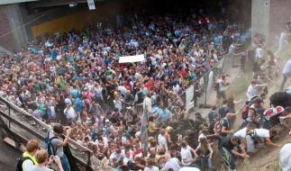 Gravierende Polizeifehler bei Loveparade-Katastrophe (Foto)