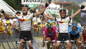Greipel vs Cavendish  (Foto)