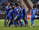 Griechen zittern sich zu EM - Kroaten in Playoffs (Foto)