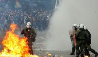 Griechenland brennt (Foto)