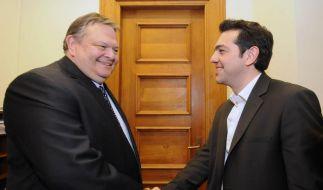 Griechenland: Evangelos Venizelos und Alexis Tsipras (Foto)
