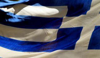 Griechenland-Flagge (Foto)