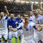 Griechenland tönt vor dem EM-Viertelfinale gegen Deutschland.