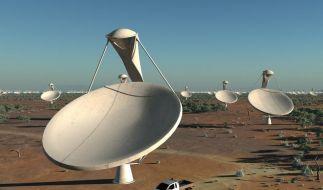 Größte Teleskopanlage kommt nach Afrika und Australien (Foto)