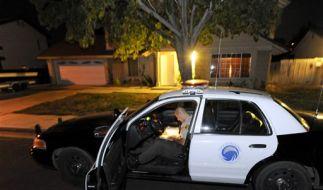 Großeinsatz der Polizei: Auf der Suche nach den Sekten-Mitgliedern. (Foto)