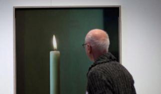 Großer Andrang bei Gerhard-Richter-Werkschau in Berlin (Foto)