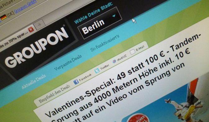 Groupon auf neuem Tiefpunkt: Wert beinahe gedrittelt (Foto)