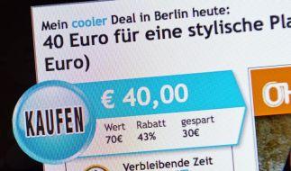 Groupon-Börsengang bringt rund 700 Millionen Dollar (Foto)