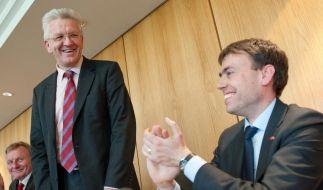 Grün-Rot in Stuttgart bei Koalitionsverhandlungen (Foto)