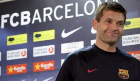 Guardiolas Co-Trainer Vilanova übernimmt den FC Barcelona (Foto)