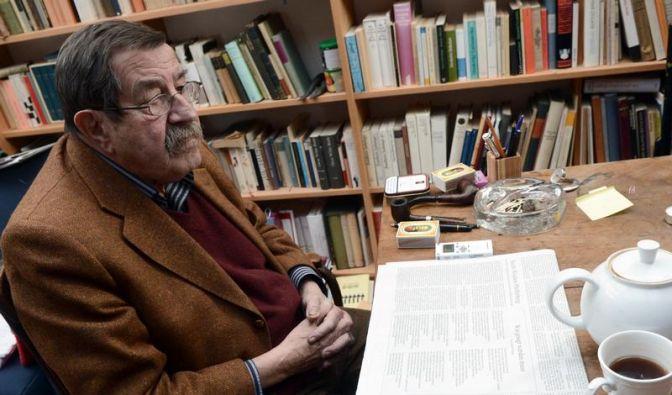 Günter Grass mit Herzproblemen in Hamburger Klinik (Foto)