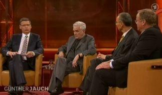 Günther Jauch diskutierte zum Thema Günter Grass (Foto)