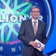 """Günther Jauch präsentiert jeden Montag die RTL-Quiz-Show """"Wer wird Millionär?"""". (Foto)"""