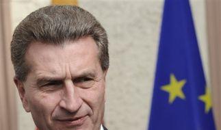 Günther Oettinger geht nach Brüssel (Foto)