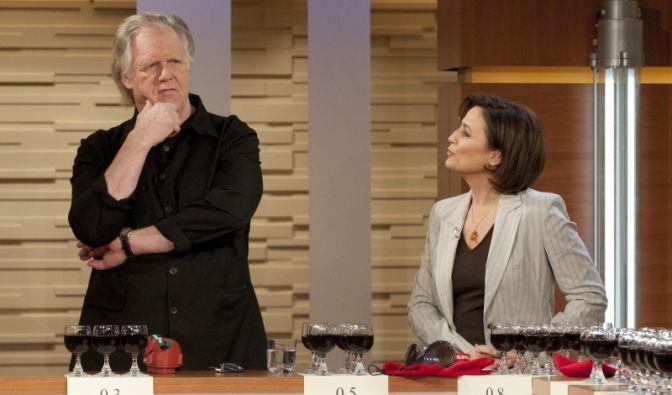 Gunter Gabriel bei Sandra Maischberger (Foto)