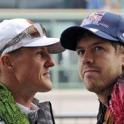 DESHALB vermisst Sebastian Vettel Schumi so sehr (Foto)
