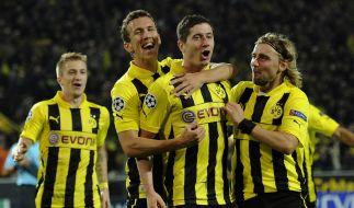 Gute Chancen auf erneute Champions-League-Festspiele: Dortmund spielt gegen Schachtjor Donezk. (Foto)