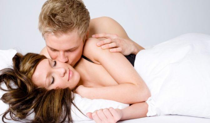 Mit Küsschen schläft es sich besser.