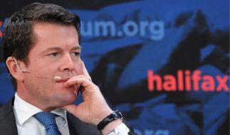 Guttenberg bei Sicherheitsforum (Foto)