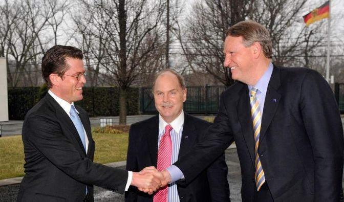 Guttenberg: GM-Management bewegt sich (Foto)