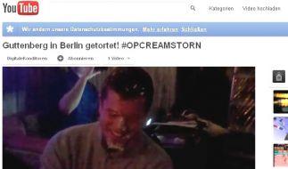 Guttenberg Torte (Foto)