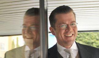 Guttenberg wird neuer Bundeswirtschaftsminister (Foto)