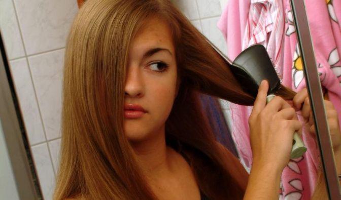 Haare besser trocken bürsten (Foto)