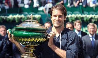 Haas triumphiert in Halle - Finalsieg gegen Federer (Foto)