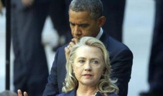 Haben Außenministerin Hillary Clinton und Präsident Barack Obama ihren Botschafter durch einen Anschlag verloren? (Foto)