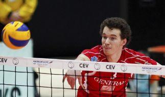 Hachings Volleyballer starten mit Sieg in Finalserie (Foto)