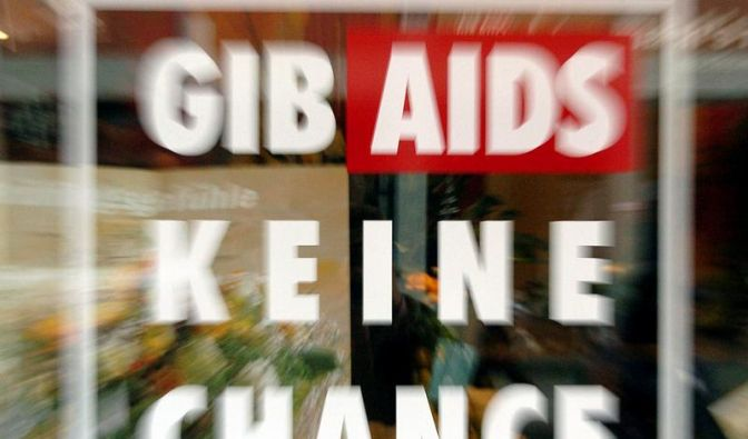 Hälfte der Deutschen findet Aidsaufklärung ungenügend (Foto)