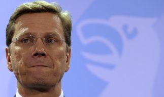 Hält die Kritik für ungerecht: Außenminister Guido Westerwelle (FDP). (Foto)