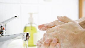 Händewaschen (Foto)