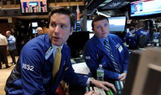 Händler an der Wall Street. (Foto)