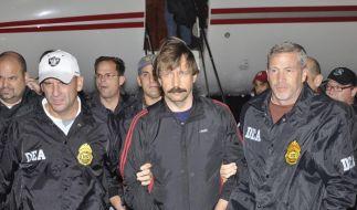 «Händler des Todes» Bout in den USA eingetroffen (Foto)