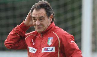 Härtetest für «Reformator» Cesare Prandelli (Foto)