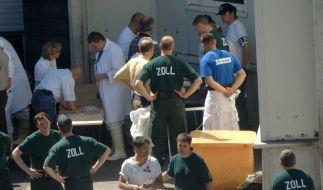 Haftstrafe wegen Schwarzarbeit in Schlachthöfen (Foto)