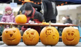 Halloween Kürbisse (Foto)