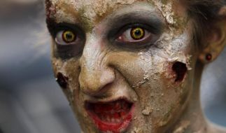 Halloween-Make-up (Foto)