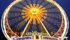 Hell und bunt leuchtet das Riesenrad auf dem Winterdom in Hamburg. Der Hamburger Winterdom, das größtes Volksfest im Norden, hat bis zum 6. Dezember seine Tore für Besucher geöffnet. Foto: dpa