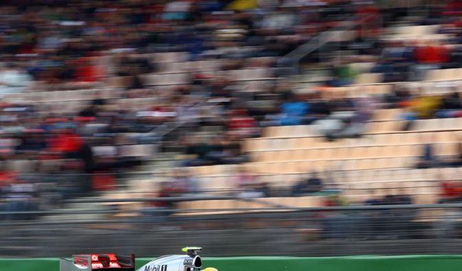 Hamilton macht auch im 100. Rennen Ärger (Foto)