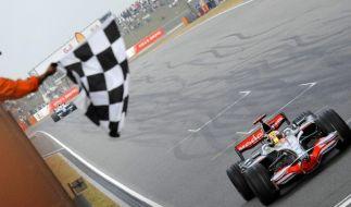Hamilton nach Sieg in China vor Titeltriumph (Foto)