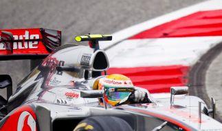 Hamilton vor Vettel im ersten Bahrain-Training (Foto)