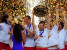 Handball-Helden aus Dänemark im Glück (Foto)