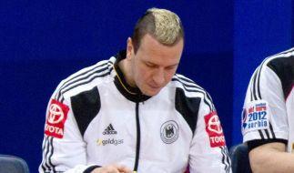 Handball-Kapitän Hens mit Infekt im Bett (Foto)