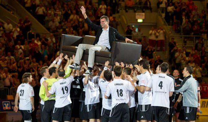 Handball-Legende Heiner Brand sagt «tschüss» (Foto)