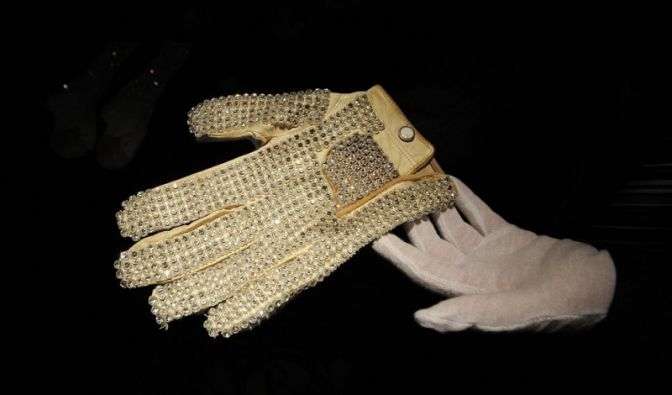Handschuh von Michael Jackson (Foto)