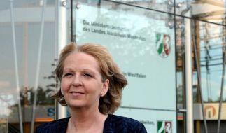 Hannelore Kraft ist in der Düsseldorfer Staatskanzlei angekommen (Foto)