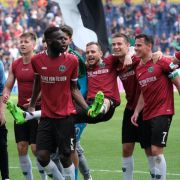 VfB Stuttgart und Hannover 96 feiern Rückkehr in die Bundesliga (Foto)