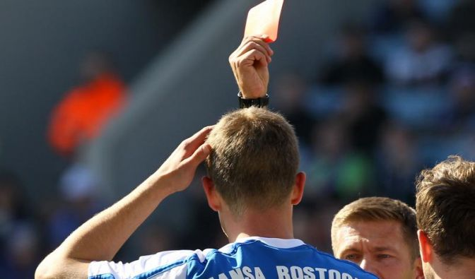Hansa in Berufung gescheitert: Gusche vier Spiele gesperrt (Foto)